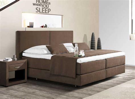 schlafzimmer komplett braun boxspringbett 180x200 g 252 nstig braun dass komplett mit
