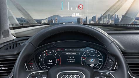 Audi Head Up by Das Cockpit Und Infotainmentsysteme Im Neuen Audi Q5