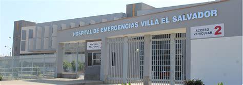 convocatoria cas hospital maria auxiliadora hospital de emergencias villa el salvador nosotros