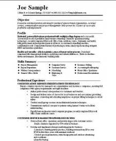 Functional Resume Samples Resume And Cover Letter Examples For Entrepreneurs And