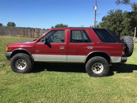 how petrol cars work 1994 isuzu rodeo on board diagnostic system isuzu rodeo 4x4 diesel classic isuzu rodeo 1992 for sale
