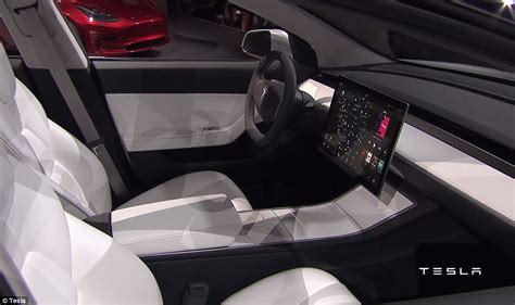 tesla model 3 interior space tesla unveil the much anticipated model 3 driveelectric