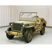 1945 Ford GPW Jeep  Hyman Ltd Classic Cars