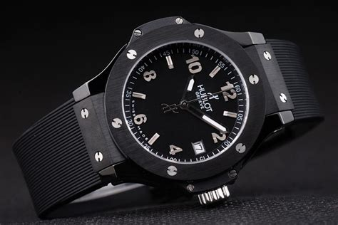 Jam Hublot Big Black Best Clone replica hublot big black 4063 35mm replica breitling watches copy watches