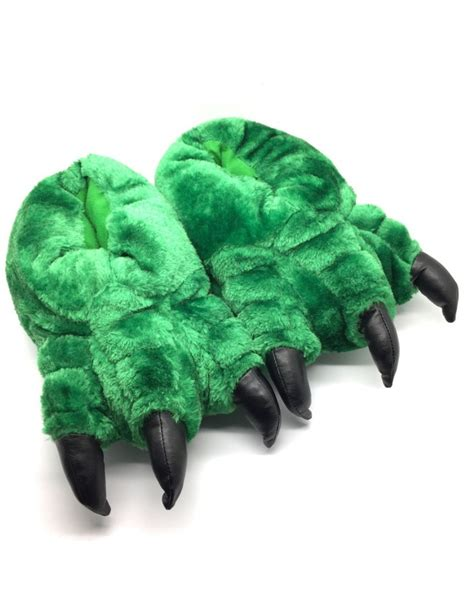 animal claw slippers new mens womens novelty claw animal slippers all