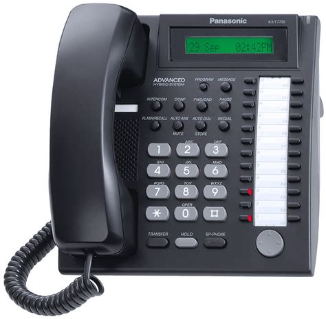 Panasonic Telepon Kx T7730x panasonic kx t7730 analog phone kx t7730