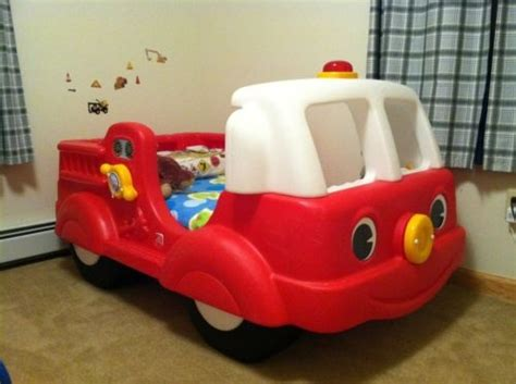 Step 2 Firetruck Bed by Step 2 Truck Engine Toddler Bed We Engine And