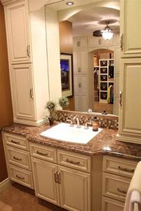 wonderful Throw The Kitchen Sink #4: cool-country-bathroom-vanities-design-with-dark-brown-marble-top-and-trough-white-sink.jpg