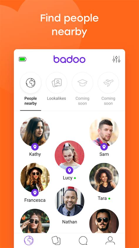 badoo mobile android badoo free chat dating app android apps on play