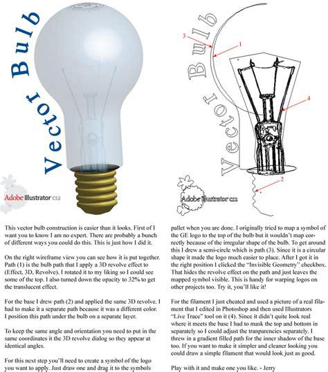 Vector Light Tutorial   vector light bulb tutorial by vectorgeek on deviantart