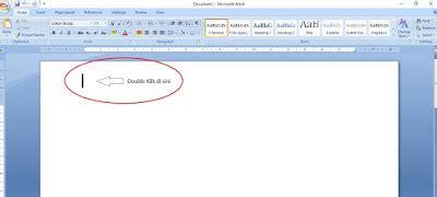 membuat kop surat ms word 2007 cara membuat kop surat di microsoft word 2007 jokinfo