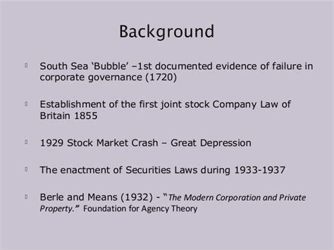 Mba Corporate Governance Notes by Issues Trends In Caribbean Corporate Governance