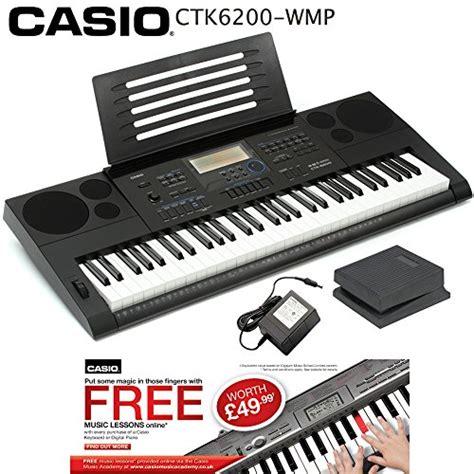 Baru Keyboard Casio Ctk 6200 casio ctk 6200 wmp 61 key portable arranger touch sensitive keyboard