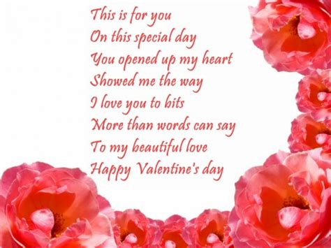 valentines poem poems