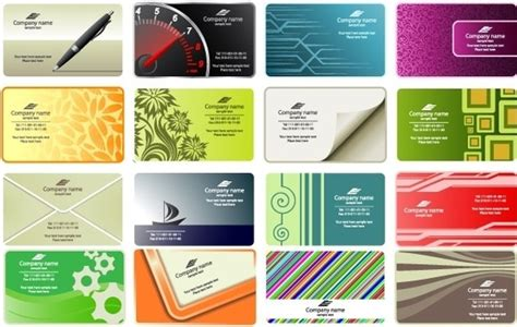 Free Call Cards Design Templates by Business Card Template Free Vector