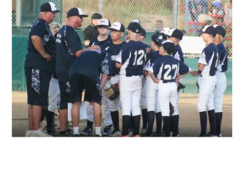 section 7 little league rancho san diego dawgs battle to the end in little league