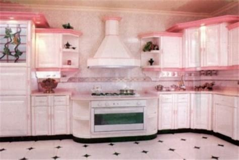 pink kitchen cabinets colored kitchen cabinets