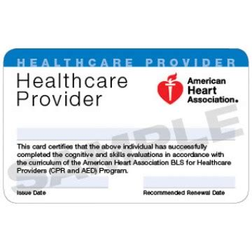 American Association Cpr Card Template by American Association Cpr Certification Card