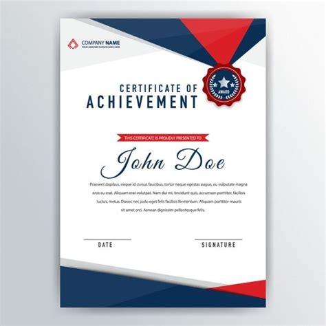 certificate template vector  getdrawings