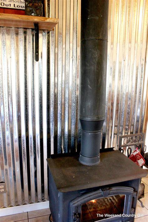 corrugated tin metal sheet wall treatment tutorial