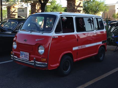 vw minivan 1970 1970 subaru micro minivan at cars and coffee scottsdale