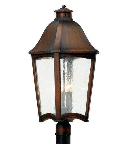 Patio Lanterns Mitchell by Quoizel Lighting Mitchell 4 Light Outdoor Post Lantern In