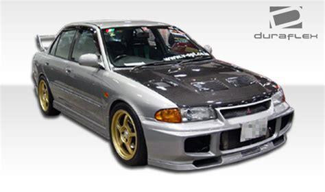 Grill Bumper Mitsubishi Lancer Evo 3 1993 1996 Chrome Paint 1993 1996 mitsubishi mirage 4dr duraflex evo front bumper