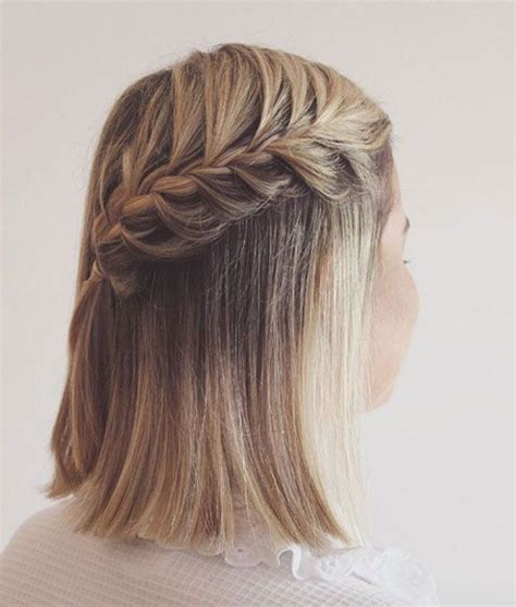 simple and cute ways to style braids 20 easy ways to style short hair