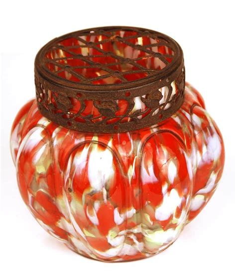 Antique Blown Glass Vases by Antique Blown Glass Flower Vase From