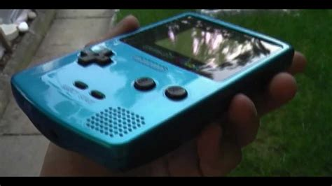 gameboy color frontlight mod without sp custom painted gameboy color gbc youtube