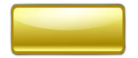 Gold Button by Big Image Png