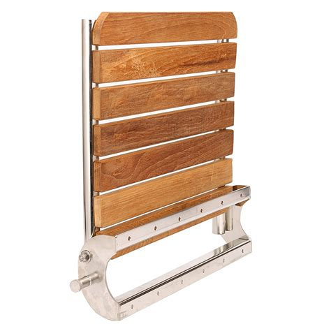 folding wall mounted bench teak wall mounted folding shower bench seat solid burmese