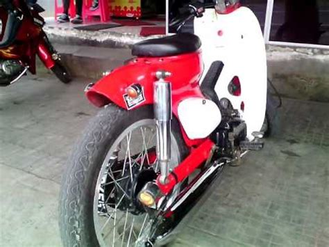 Karet Ganjal Stang Honda C70 Pitung modifikasi motor honda 70 pitung elegan bahan modifikasi
