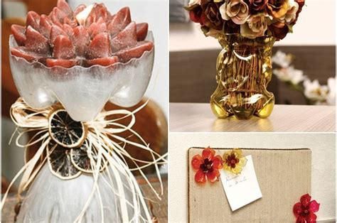 craft work for home decoration 3 easy craft ideas for recycling plastic bottles in the home decor