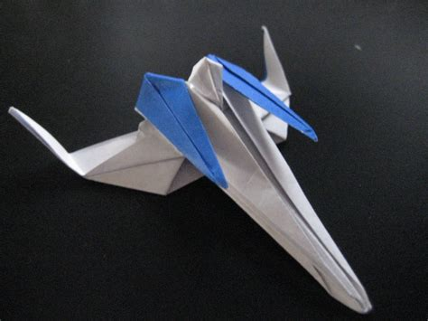 Arwing Papercraft - origami arwing by omjeee on deviantart