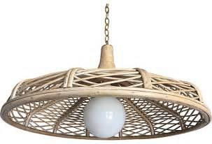 rattan light pendant 1960s rattan pendant light omero home