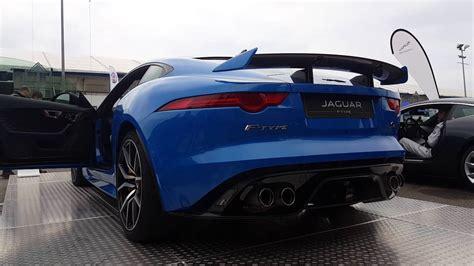 Jaguar F Type Exhaust by Jaguar F Type Svr Roadster Start Up Rev Exhaust Sound