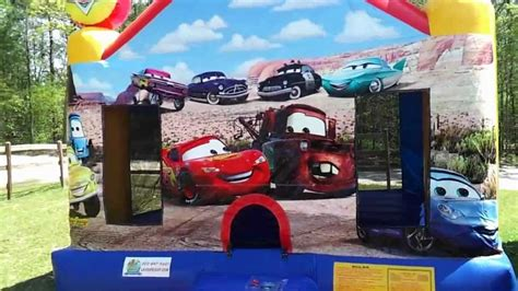 cars bounce house cars bounce house kids theme party rental laugh n leap youtube