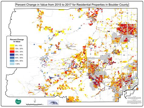 Boulder Colorado Property Records Maps Property Valuations Around Metro Denver Are Spiking