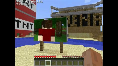 how to build a tv minecraft tutorial how to build working tv youtube