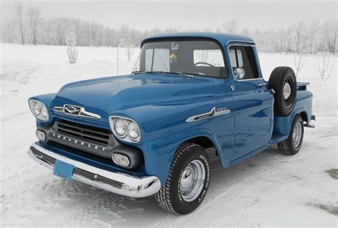 american muscle cars 1958 chevy apache 3100 187 usa