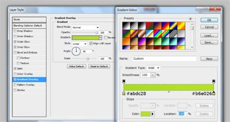 photoshop cs5 gradient tool tutorial create a diagnostics icon in photoshop tutorialchip
