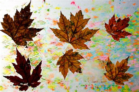 How To Make Wax Paper Leaves - 194 365 wax paper leaves flickr photo