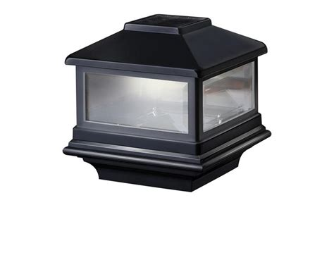 Deckorators Solar Post Cap Light Copper Solar Light Post Cap