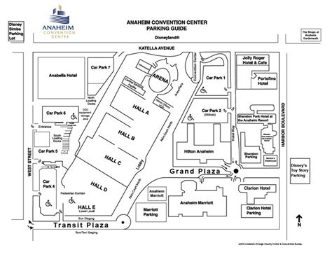 anaheim convention center floor plan anaheim convention center