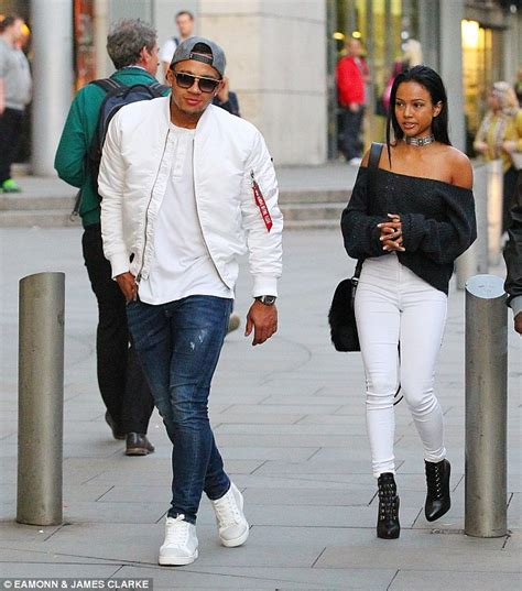 Nameset Original Epl Pspro White Rashford Season 2015 17 depay spends more time with karrueche as he hits the shops in manchester with chris