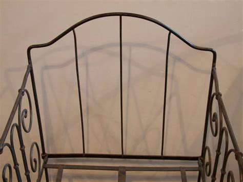 French 19th Century Wrought Iron Baby Cribs At 1stdibs Wrought Iron Baby Cribs