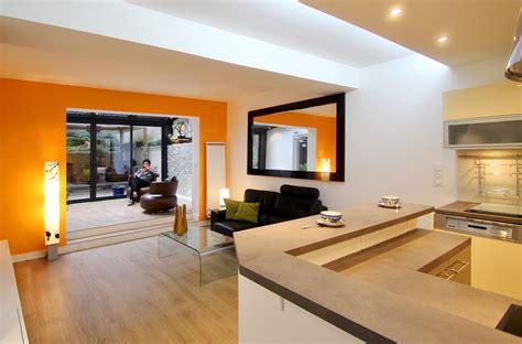 Attrayant Salon Rotin Pour Veranda #1: Agence-Avous-Veranda-Paris-19-Bar-ouvert-sur-salon.jpg