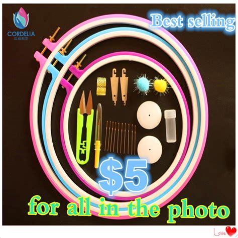New Best Seller Nagita Set 2016 new best selling embroidery hoop plastic high quality embroidery tool set for diy sewing