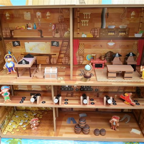 pirate doll house pirate play house classy tot